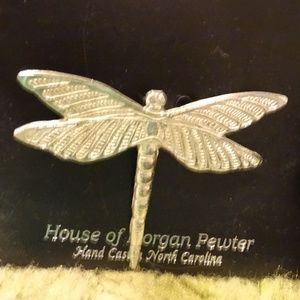 House of Morgan Pewter Butterfly Pin